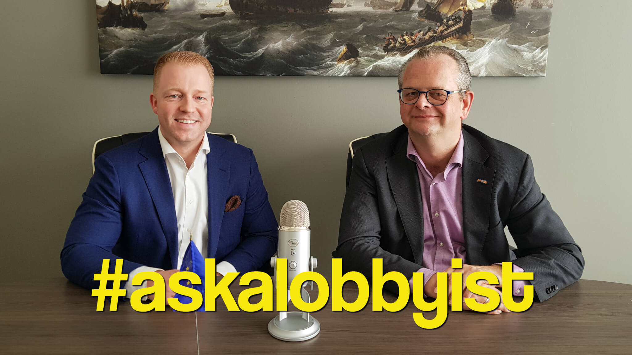 What would you #askalobbyist ?