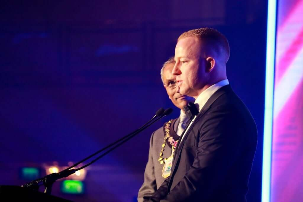 GPA Director speaks at Asian Curry Awards in London